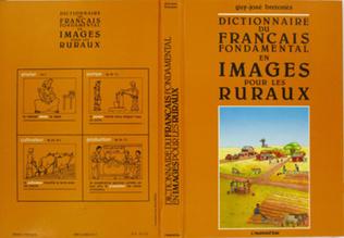 Couverture Dictionnaire du français fondamental en images pour les ruraux