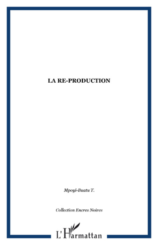 Couverture La re-production