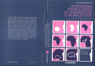 Couverture Système phonologique et grammatical d'un parler ewe