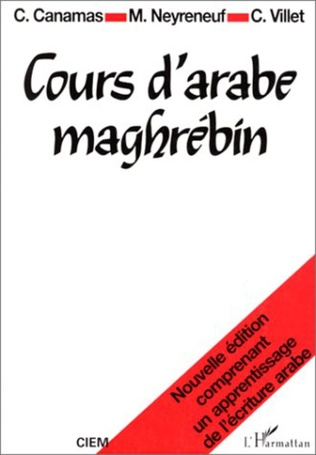 Couverture Cours d'arabe maghrébin