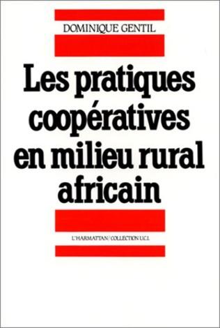 Couverture Pratiques coopératives en milieu rural africain