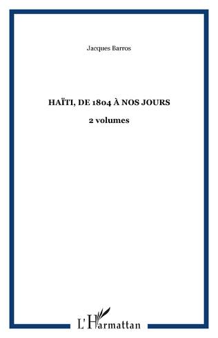 Couverture Haïti, de 1804 à nos jours