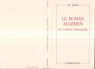 Couverture Le roman algérien de langue française