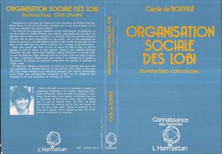 Couverture Organisation sociale des Lobi