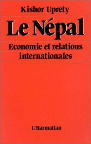 Couverture Le Népal - Economie et relations internationales