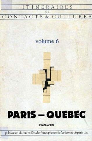 Couverture Paris-Québec