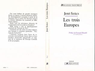 Couverture Les 3 Europe