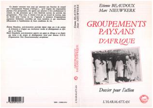 Couverture Groupements paysans d'Afrique Noire
