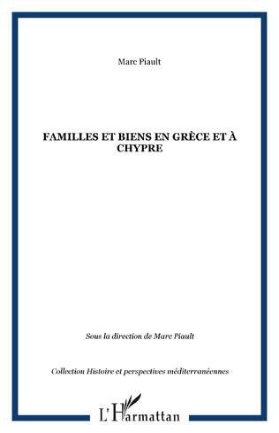 Couverture Familles et biens en Grèce et à Chypre