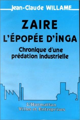 Couverture Zaïre, l'épopée d'Inga