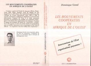 Couverture Les mouvements coopératifs en Afrique de l'Ouest