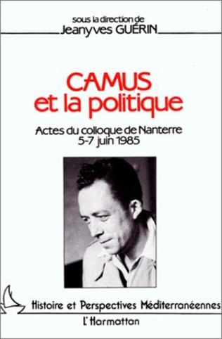 Couverture Camus et la politique