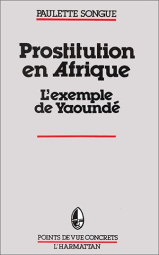 Couverture La prostitution en Afrique Noire