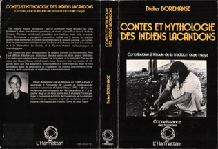 Couverture Contes et mythologie des Indiens Lacandons