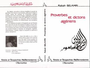 Couverture Proverbes et dictons algériens