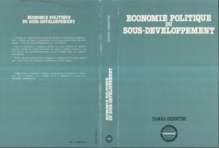 Couverture Economie politique du sous-développement