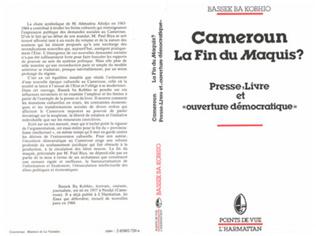 Couverture Cameroun, la fin du maquis?