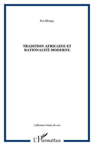 Couverture Tradition africaine et rationalité moderne