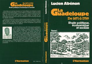 Couverture La Guadeloupe de 1671 à 1759