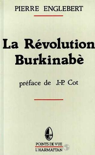 Couverture La révolution burkinabé