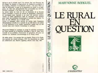 Couverture Le rural en question