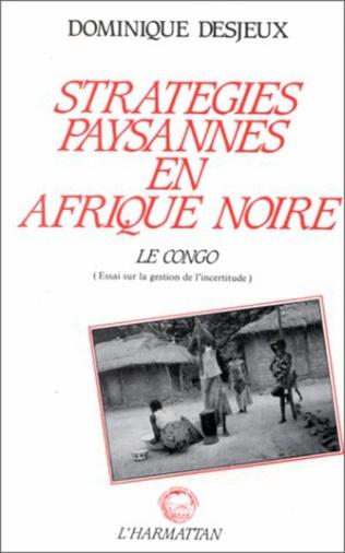 Couverture Stratégies paysannes en Afrique Noire