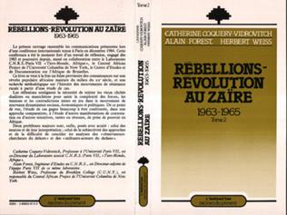 Couverture Rébellions et Révolutions au Zaïre (1963-1965)