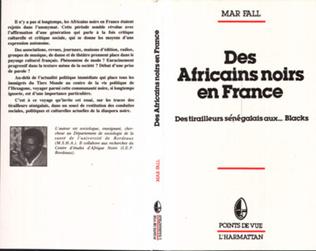 Couverture Des Africains noirs en France