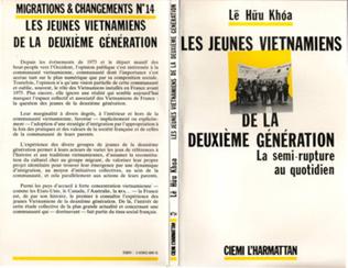 Couverture Les jeunes Vietnamiens de la deuxième génération