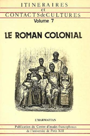 Couverture Le Roman colonial