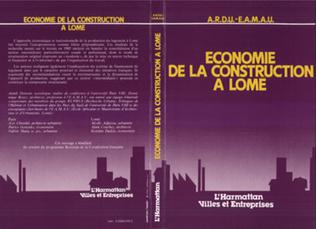 Couverture Economie de la construction à Lomé