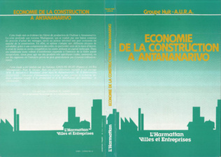 Couverture Economie de la construction à Antananarivo