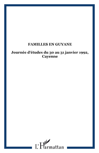 Couverture Familles en Guyane