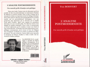 Couverture L'analyse postmoderniste