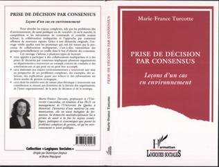 Couverture Prise de décision par consensus