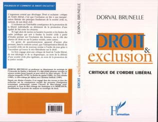 Couverture DROIT ET EXCLUSION