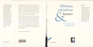 Couverture Tolérance, Pluralisme et Histoire