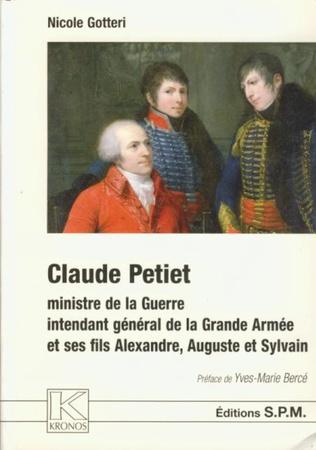 Couverture Claude Petiet