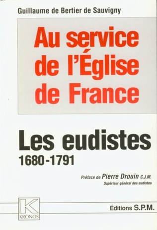 Couverture Les eudistes 1680-1791