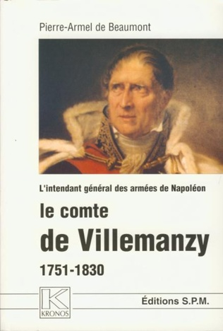Couverture Le comte de Villemanzy