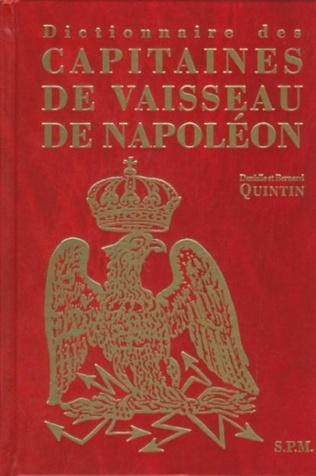 Couverture Dictionnaire des capitaines de vaisseau de Napoléon