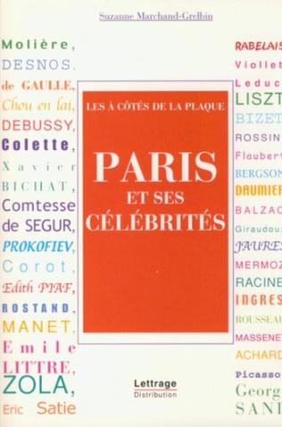Couverture Paris et ses célébrités