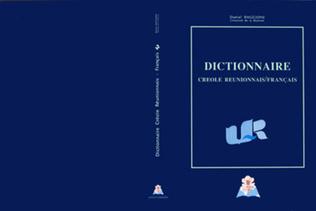 Couverture Dictionnaire créole réunionnais / français