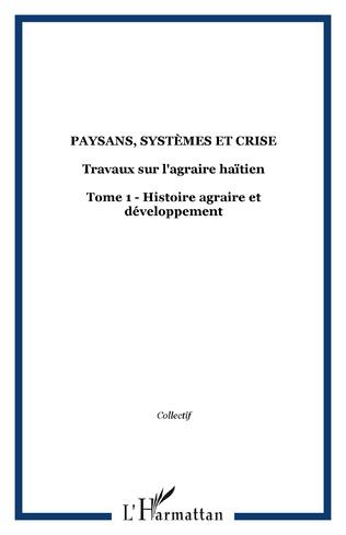 Couverture Paysans, systèmes et crise
