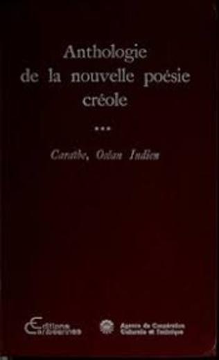 Couverture Anthologie de la nouvelle poésie créole