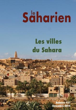 Couverture Les villes du Sahara