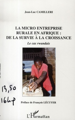 Couverture La micro entreprise rurale en Afrique
