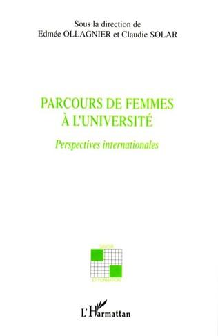 Couverture Parcours de femmes à l'université