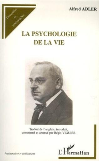 Couverture La psychologie de la vie