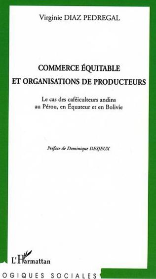 Couverture Commerce équitable et organisations de producteurs
